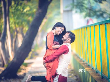 Ketan Aradhana Pre Wedding Shoot