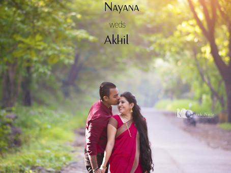 Nayana + Akhil Pre Wedding