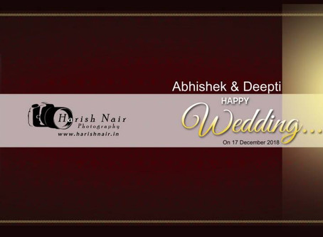 Abhishek Deepti Wedding Album