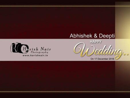 Abhishek Deepti Wedding Album