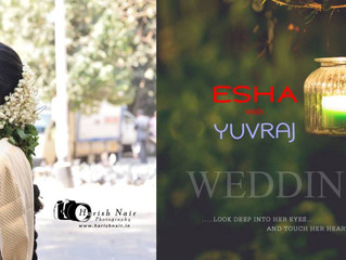Esha Yuvraj Wedding Album
