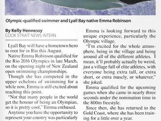 Media: Hometown hero readies herself for Rio