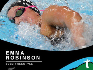 Swimmer Emma Robinson named in NZ Olympic Team for Rio 2016
