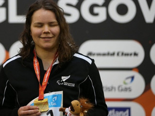 Mary Fisher's second gold leads New Zealand charge at IPC World Championships