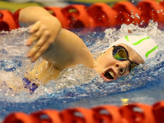 Chelsey Edwards closing in on national age-group swimming records
