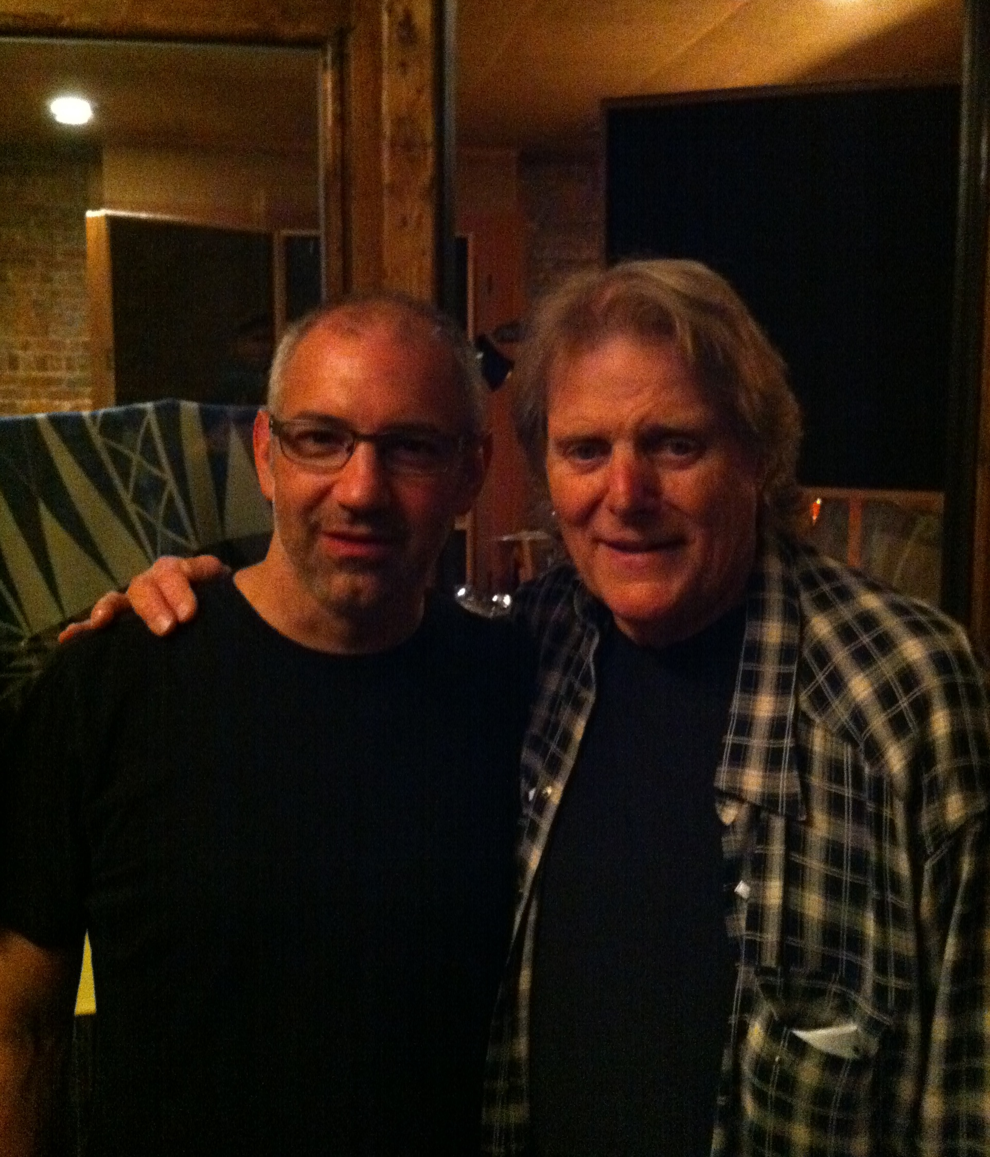 with Reggie Young