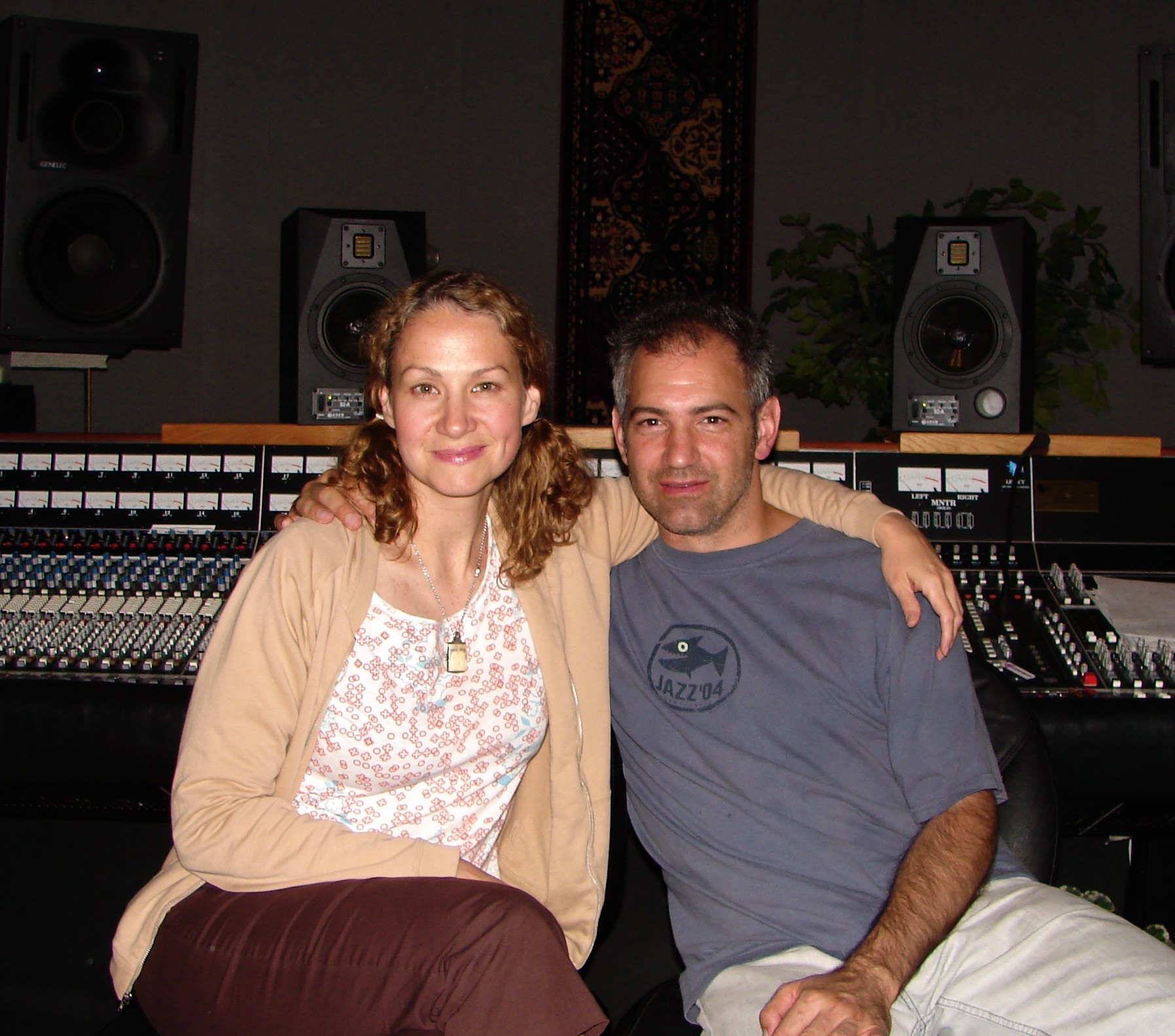 with Joan Osborne