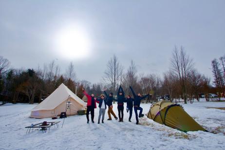 【TCC日記】雪中キャンプ