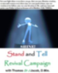 "Matthew 5:16; Church Without Walls; Shine; Stand and Tell Revival Campaign with Thomas ""Dr. J"" Jacob"
