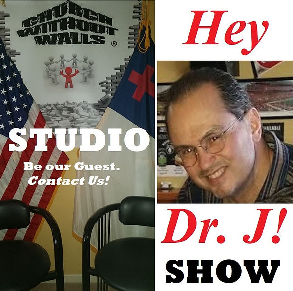 """Church Witout Walls Studio featurig the """"Hey Dr. J!"""" Show"""