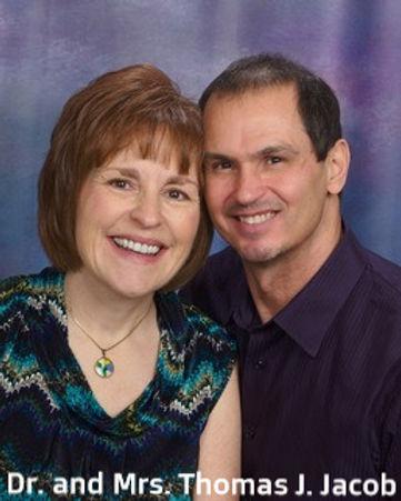Dr. and Mrs. Thomas J. Jacob