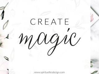 Create magic.