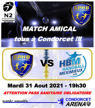 MATCH AMICAL SPHB Vs MEXIMIEUX