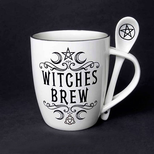 Witches Brew with spoon
