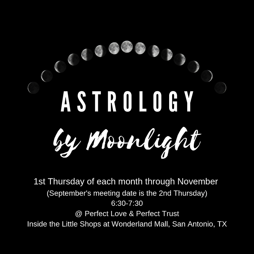 Astrology by Moonlight by Cosmic Compass