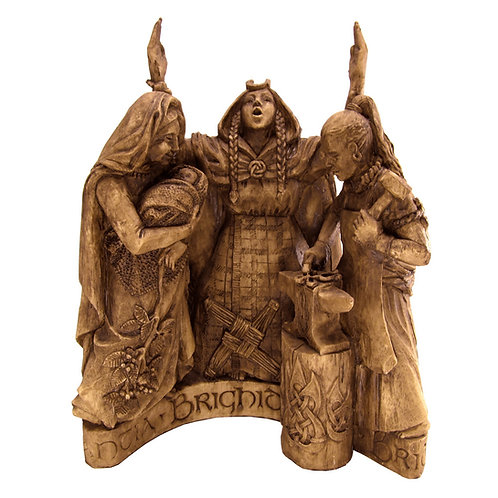 Celtic Goddess Brigid Statue
