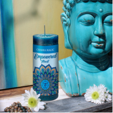 Empowered Chakra Magic Candle - Throat