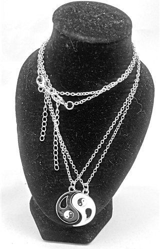 Yin & Yang Necklace Set