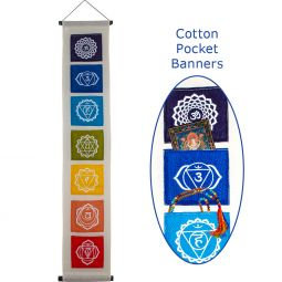 Chakra Cotton Pocket Banner
