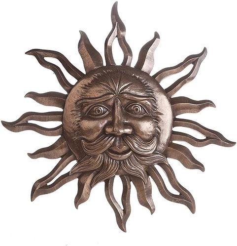 Bronze Sun Belenos Plaque
