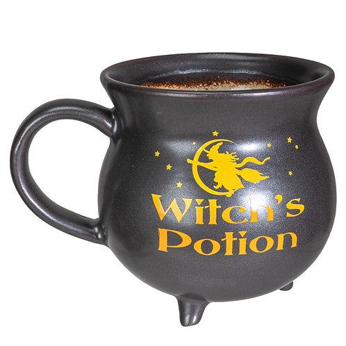 Witches potion cauldron mug