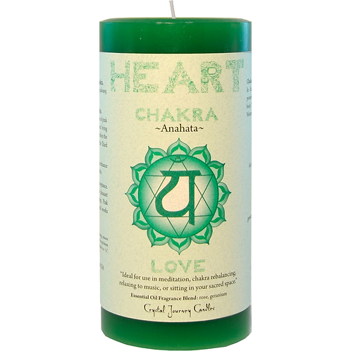 Pillar Chakra Green - Heart