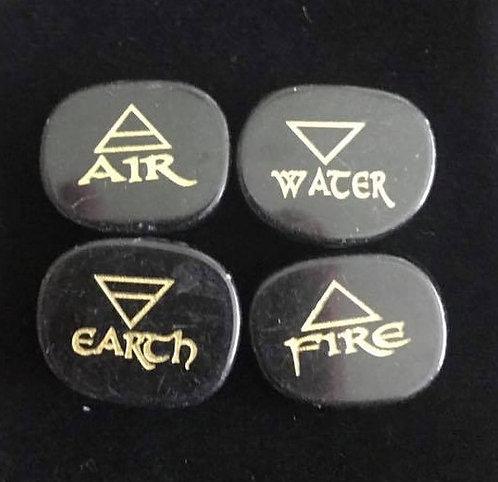 Engraved Elemental Stones