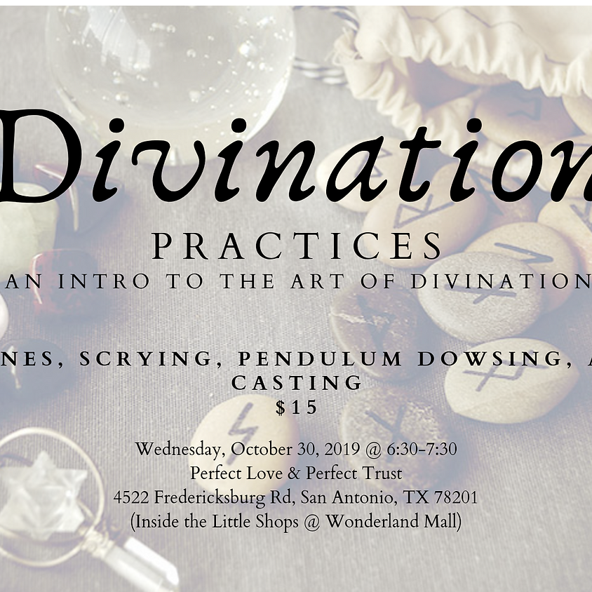 Divination Practices: An Intro to the Art of Divination