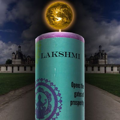 Lakshmi World Magic Candle by Coventry Creations