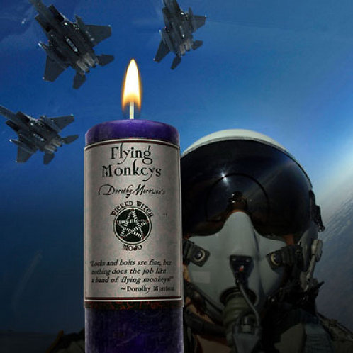 Flying Monkeys - Wicked Witch Mojo Candle