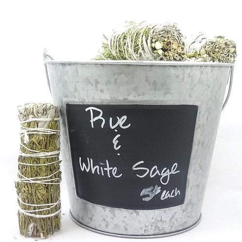 Rue & White Sage