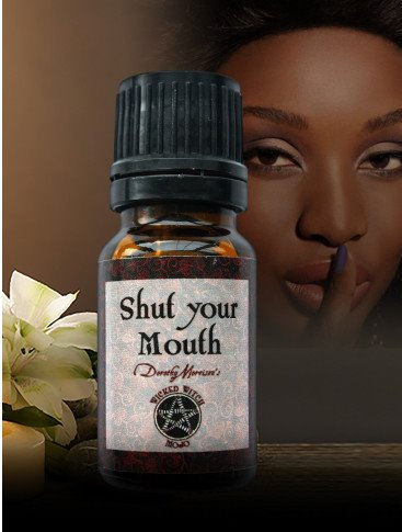 Shut Your Mouth-Wicked Witch Mojo Oil
