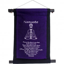 Small Namaste Banner