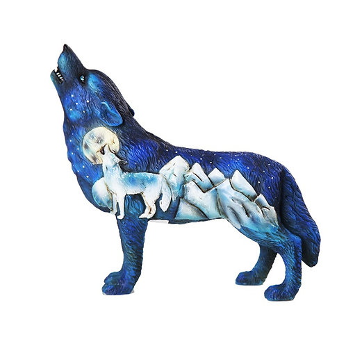 Wolf Spirit Collection - Frost Mountain Wolf