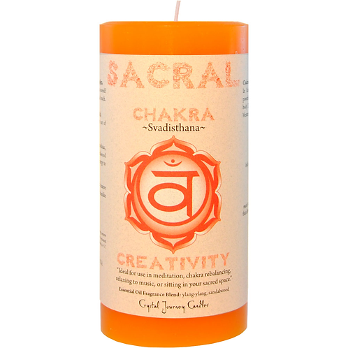 Pillar Chakra Orange - Sacral