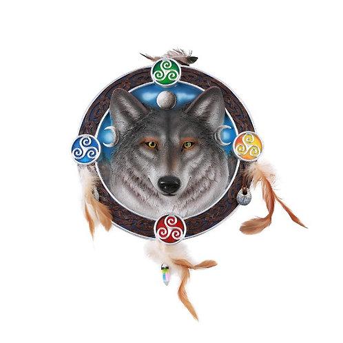 Celtic Wolf Plaque