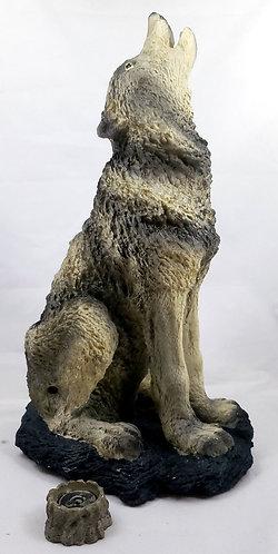 Howling Wolf Incense Burner