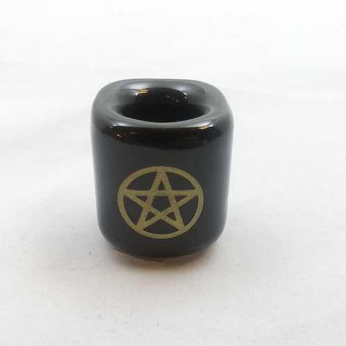 Pentagram Chime Candle Holder