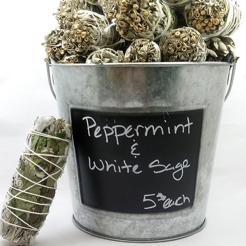 Peppermint & White Sage