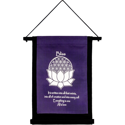Small Cotton Banner - Bliss
