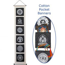 Cotton Pocket Banner