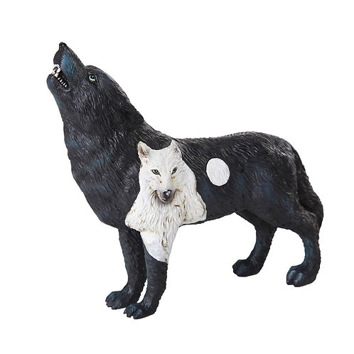 Wolf Spirit Collection - Dark Moonlit Night Wolf