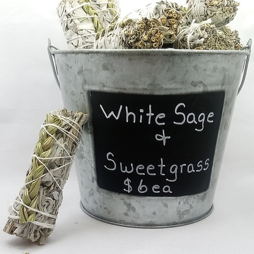 White Sage & Sweetgrass
