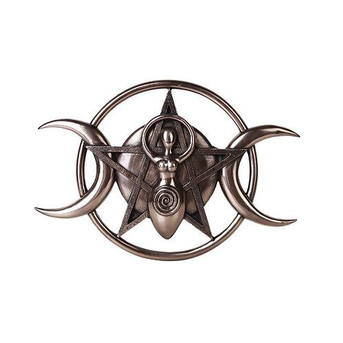 Spiral Goddess Plaque