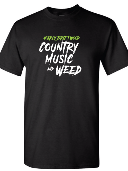 Country Music & Weed T-Shirt