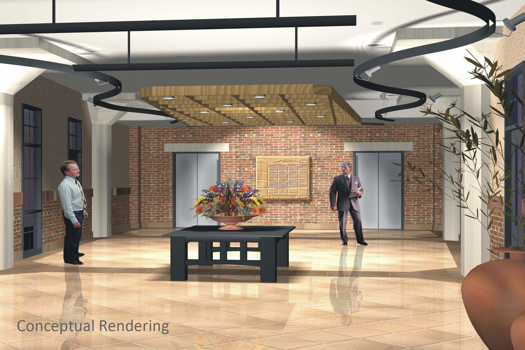Conceptual Rendering - Lobby