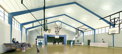 Gym View Render