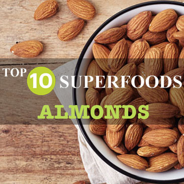 My TOP 10 SUPERFOODS - Almonds