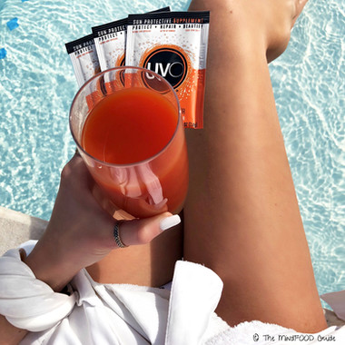 Drink your sun protection with UVO