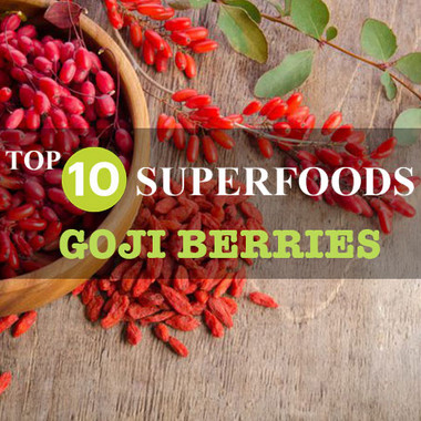 My TOP 10 SUPERFOODS - Goji Berries
